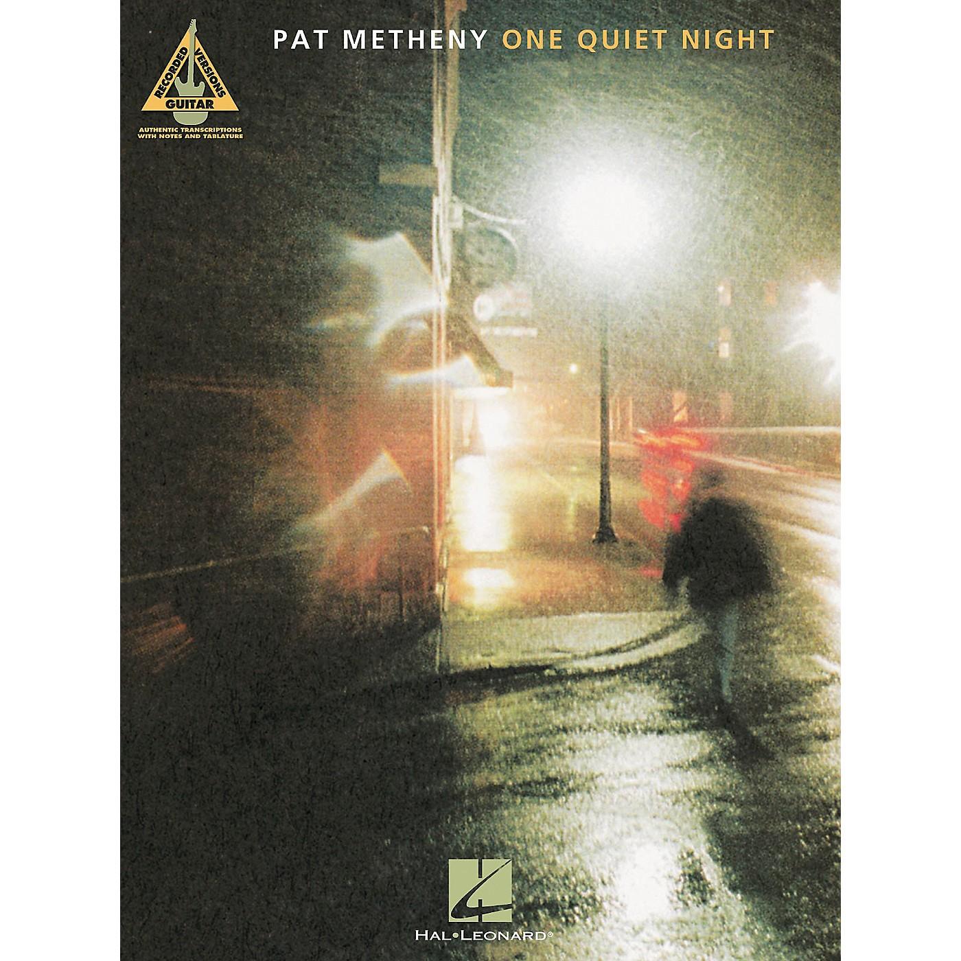Hal Leonard Pat Metheny One Quiet Night Guitar Tab Songbook thumbnail