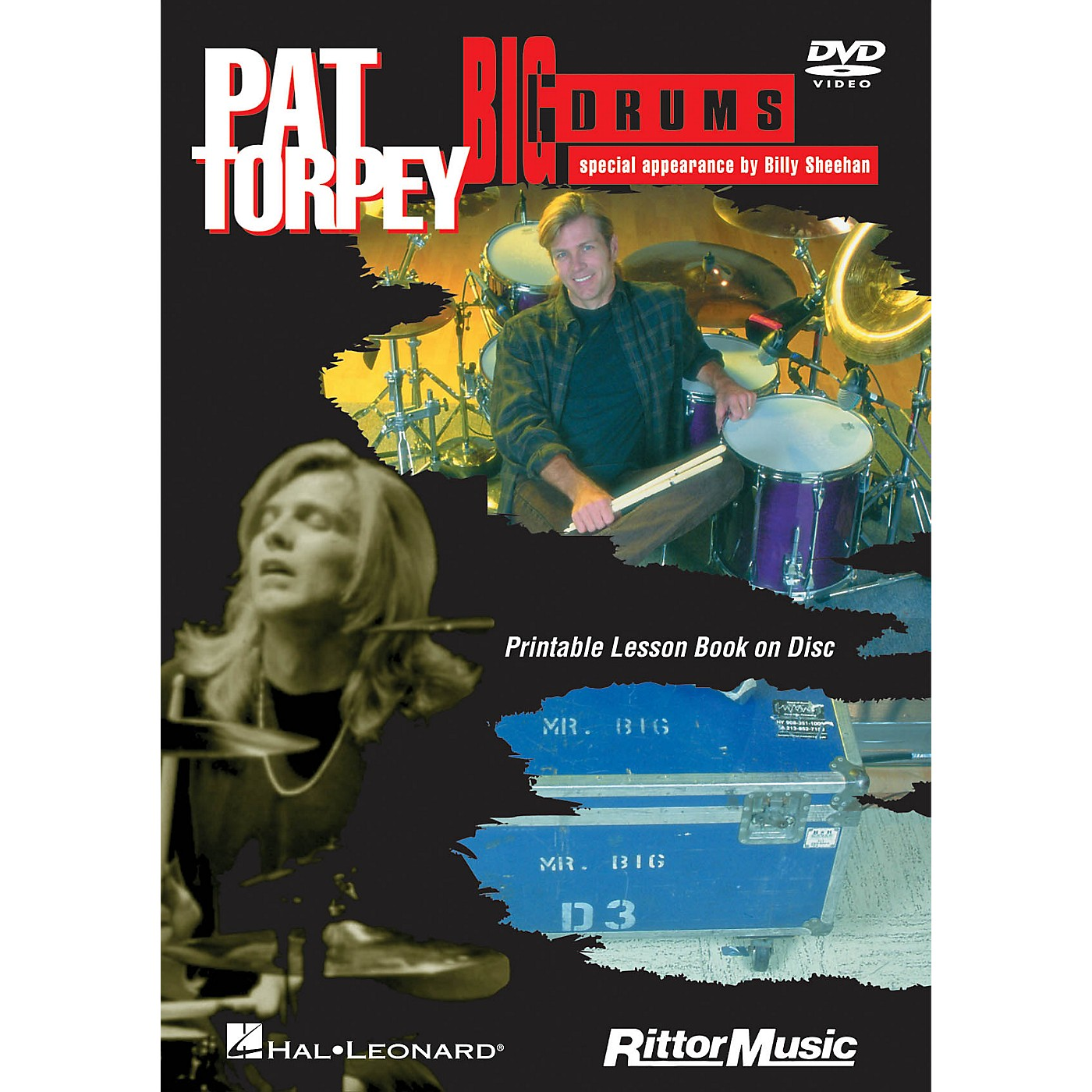 Rittor Music Pat Torpey - Big Drums DVD Series DVD Performed by Pat Torpey thumbnail