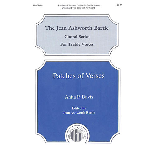 Hinshaw Music Patches of Verses 2-Part composed by Davis thumbnail