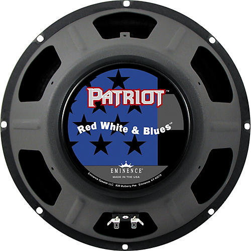Eminence Patriot Red White and Blues 120W Guitar Speaker thumbnail