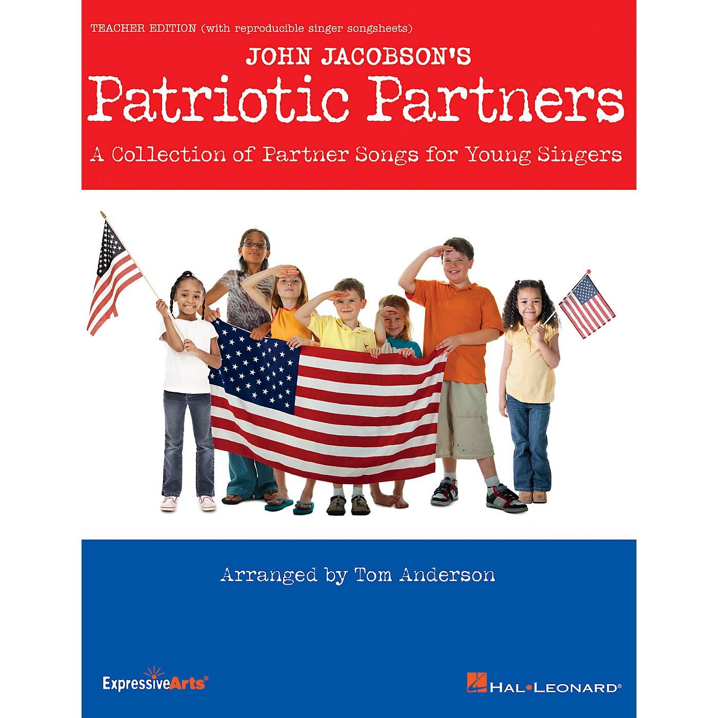 Hal Leonard Patriotic Partners Performance/Accompaniment CD Arranged by Tom Anderson thumbnail