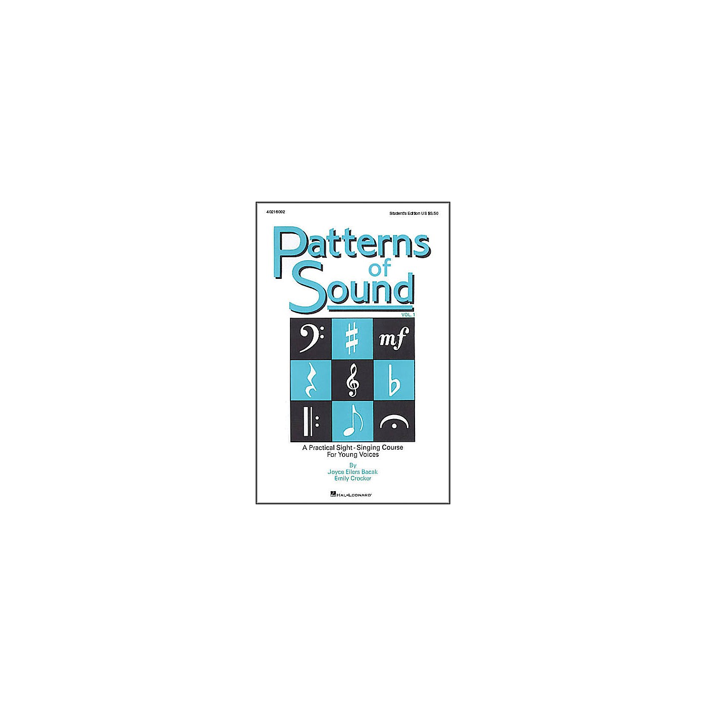 Hal Leonard Patterns Of Sound Vol 1 Student's Edition thumbnail