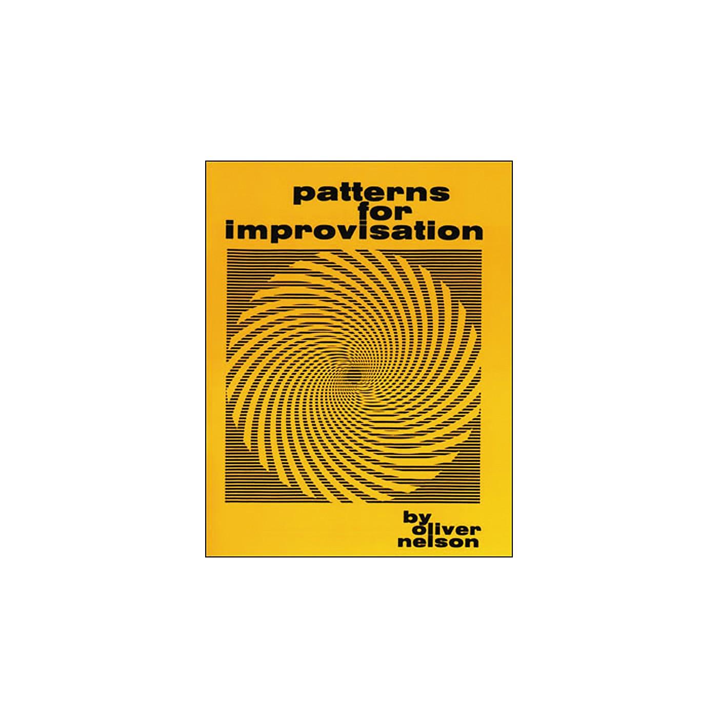 Jamey Aebersold Patterns for Improvisation Book thumbnail