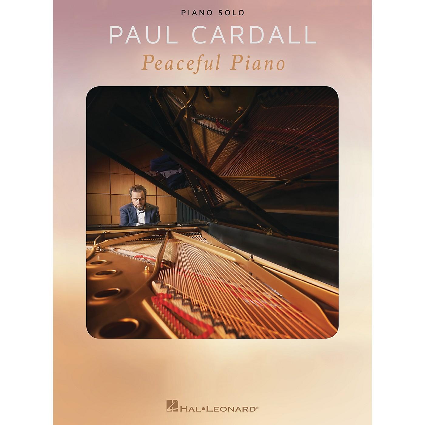 Hal Leonard Paul Cardall - Peaceful Piano Piano Solo Songbook thumbnail