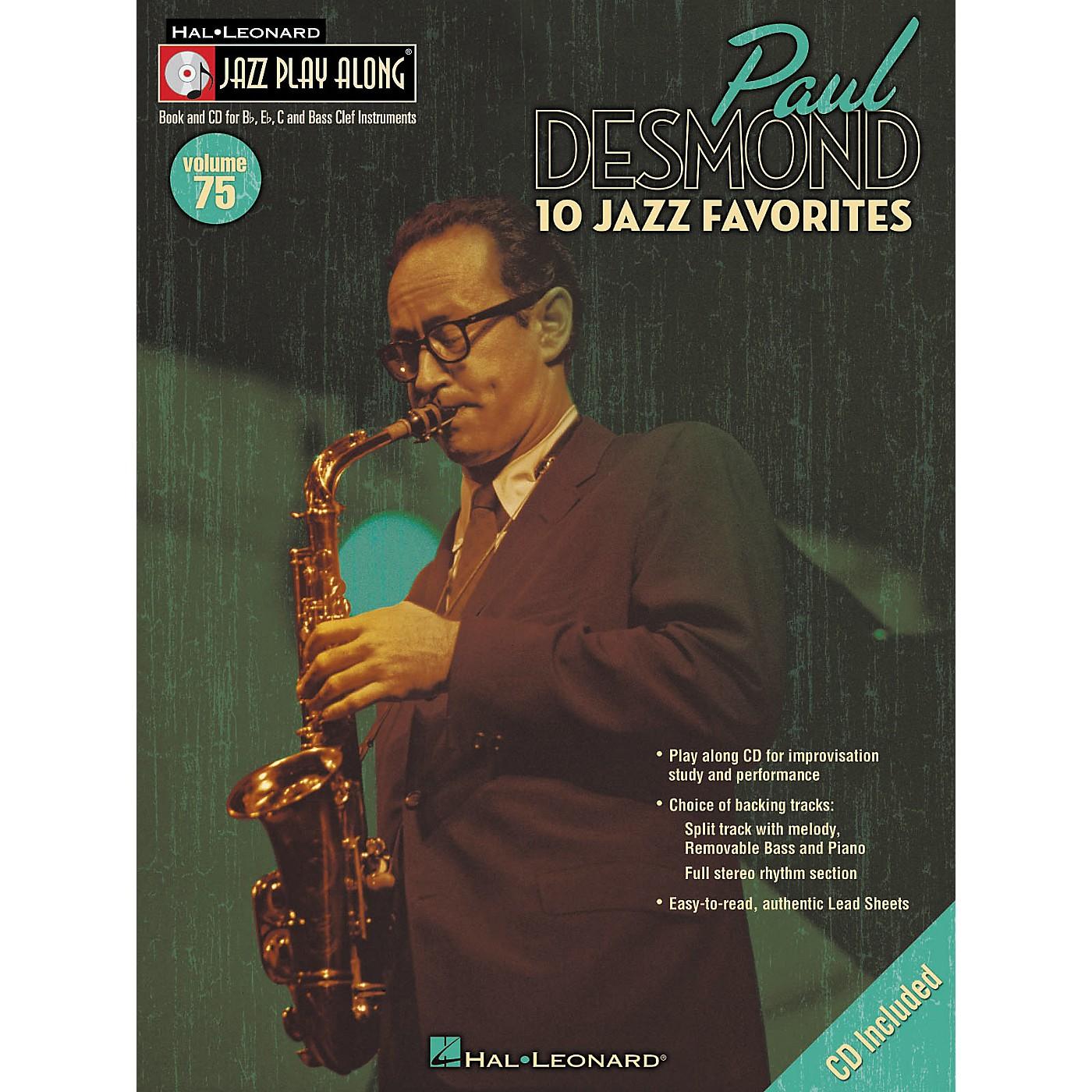 Hal Leonard Paul Desmond Jazz Play-Along Series (Book/CD) thumbnail
