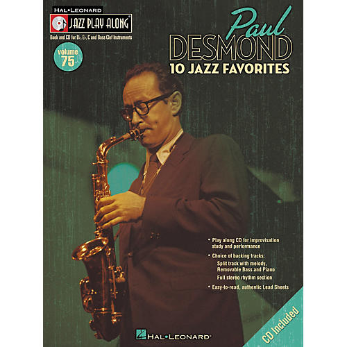 Hal Leonard Paul Desmond Jazz Play-Along Series (Book/CD) thumbnail