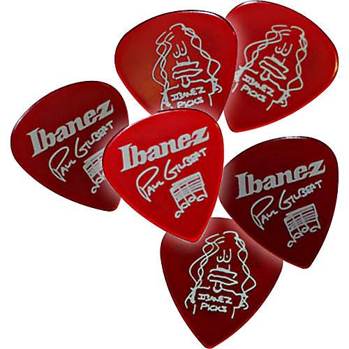 Ibanez Paul Gilbert Red Signature Picks 6-Pack thumbnail