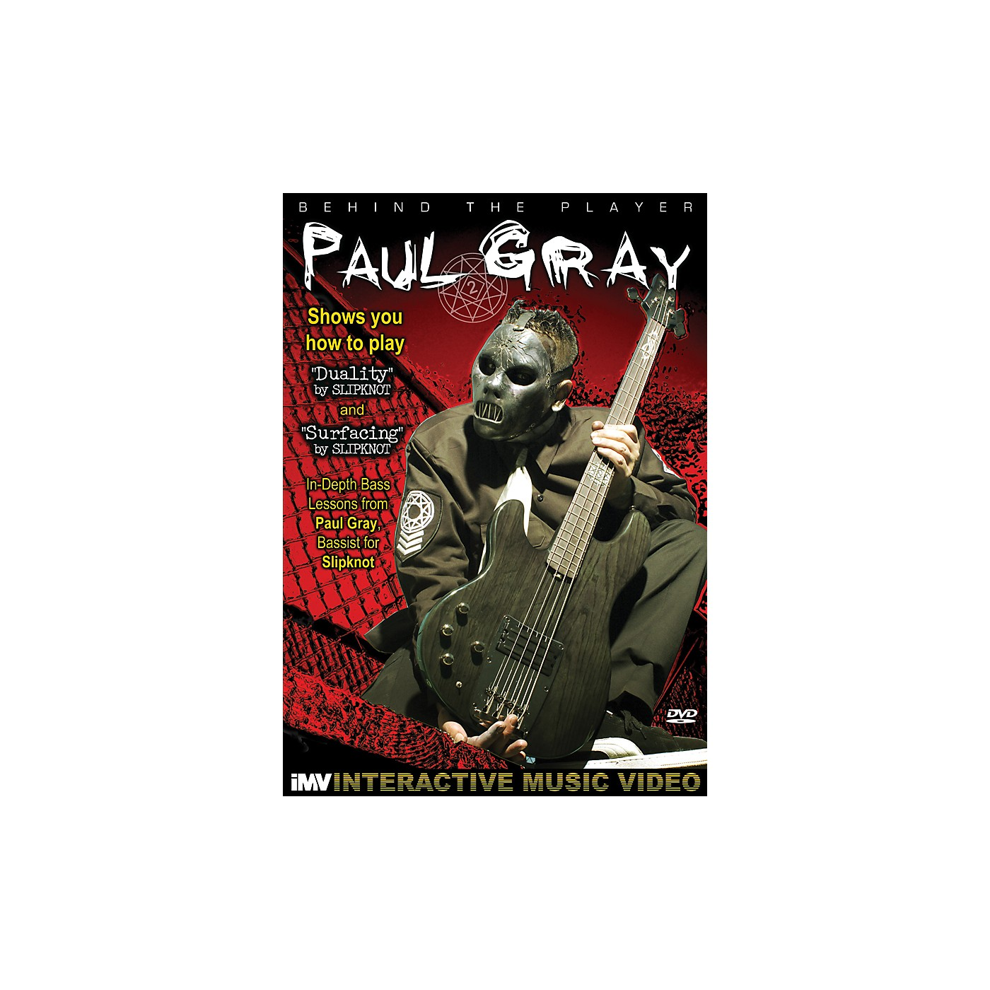 IMV Paul Gray: Behind the Player DVD thumbnail