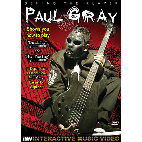 IMV Paul Gray: Behind the Player DVD thumbnail