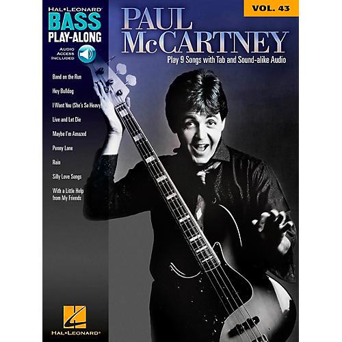 Hal Leonard Paul McCartney - Bass Play-Along Volume 43 Book/CD thumbnail