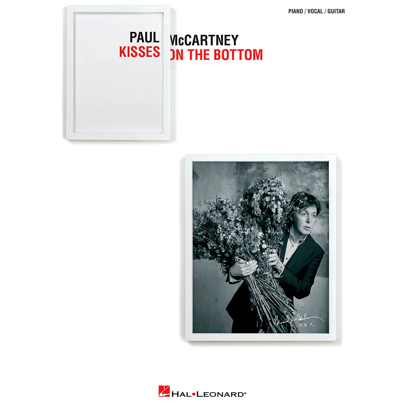 Hal Leonard Paul Mccartney - Kisses On The Bottom for Piano/Vocal/Vocal PVG thumbnail