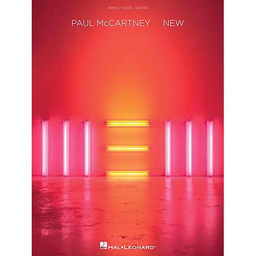 Hal Leonard Paul Mccartney - New for Piano/Vocal/Guitar thumbnail