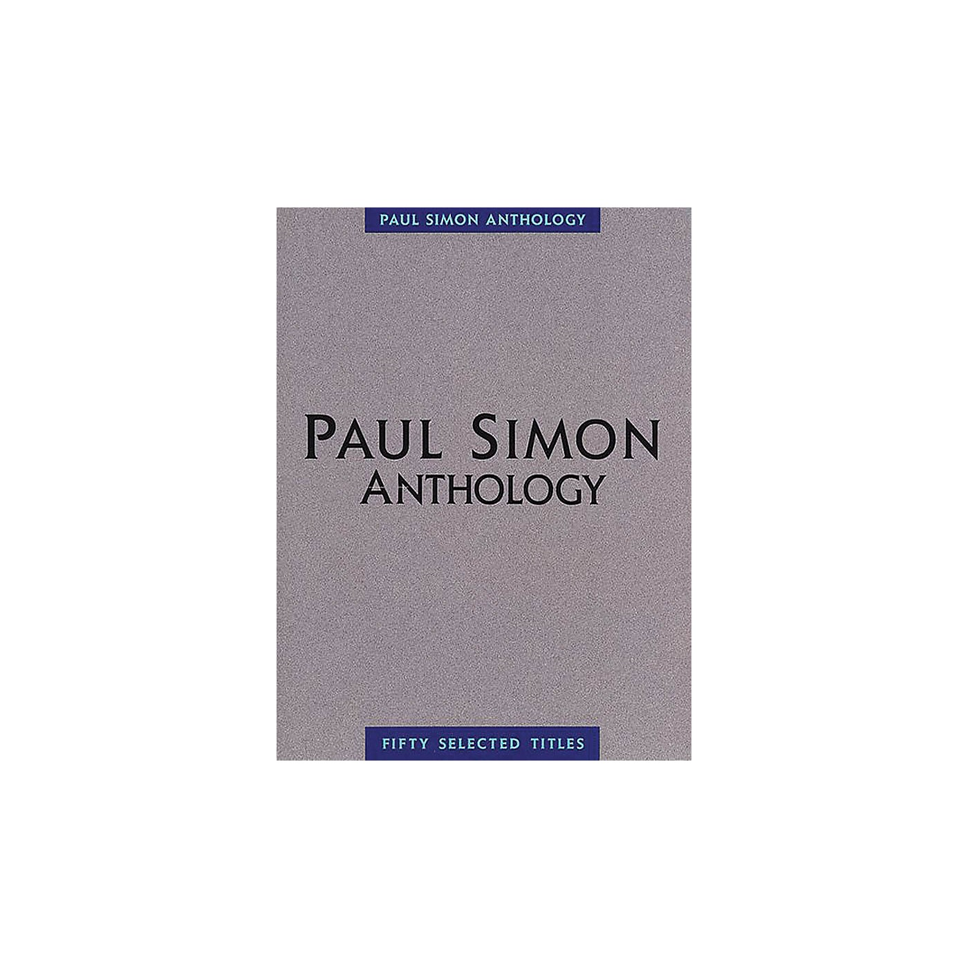 Music Sales Paul Simon - Anthology Music Sales America Series Softcover Performed by Paul Simon thumbnail