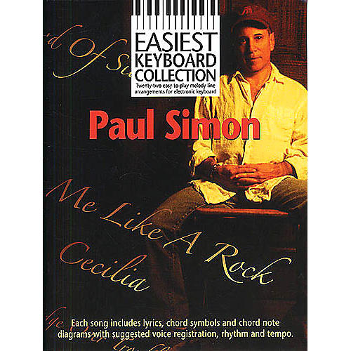 Music Sales Paul Simon - Easiest Keyboard Collection Music Sales America Series Softcover Performed by Paul Simon thumbnail
