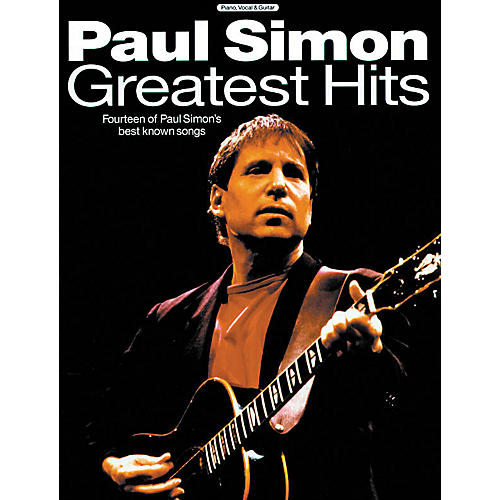 Music Sales Paul Simon - Greatest Hits Music Sales America Series Softcover Performed by Paul Simon thumbnail