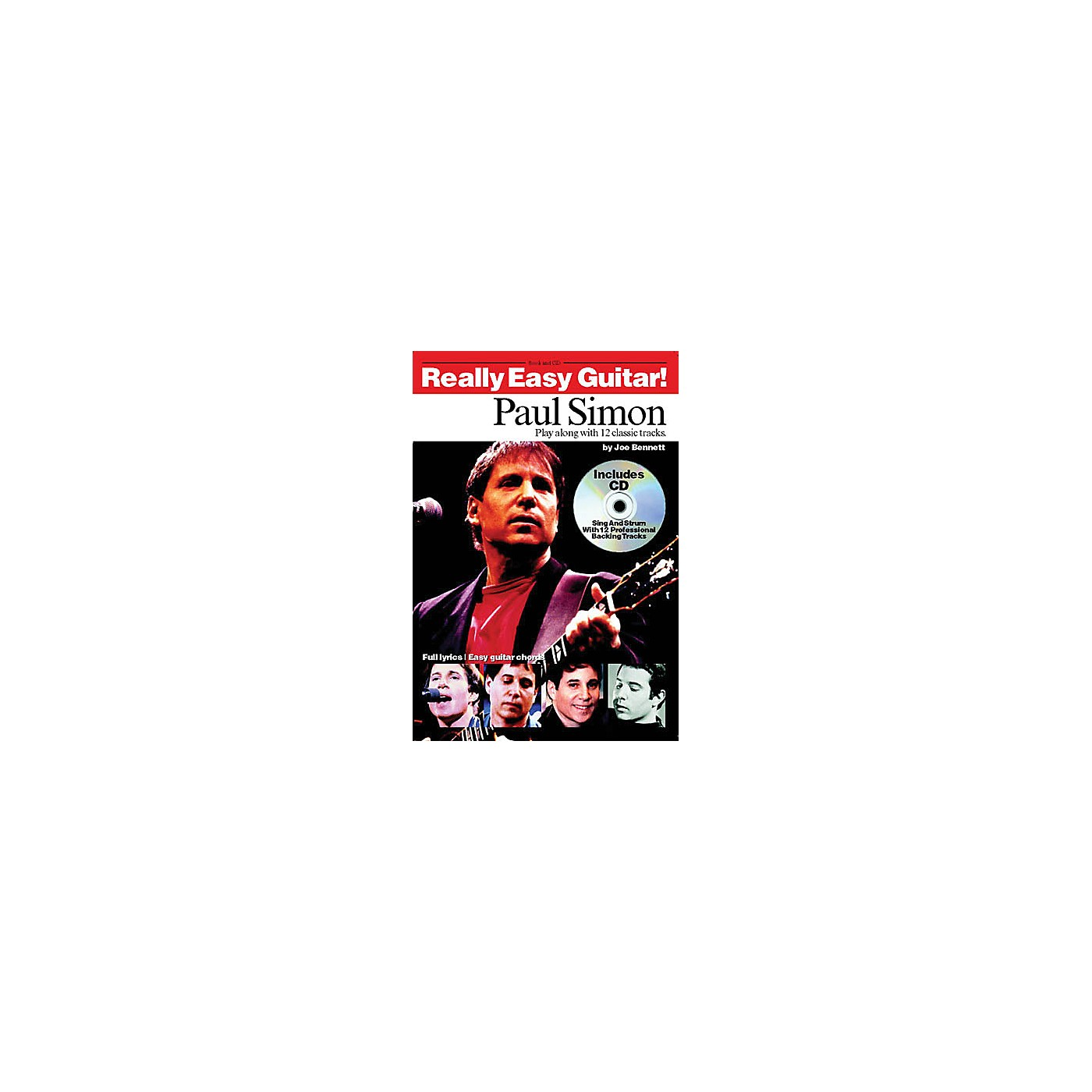 Music Sales Paul Simon - Really Easy Guitar! Music Sales America Series Softcover with CD Performed by Paul Simon thumbnail