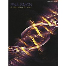 Music Sales Paul Simon - So Beautiful Or So What PVG Songbook