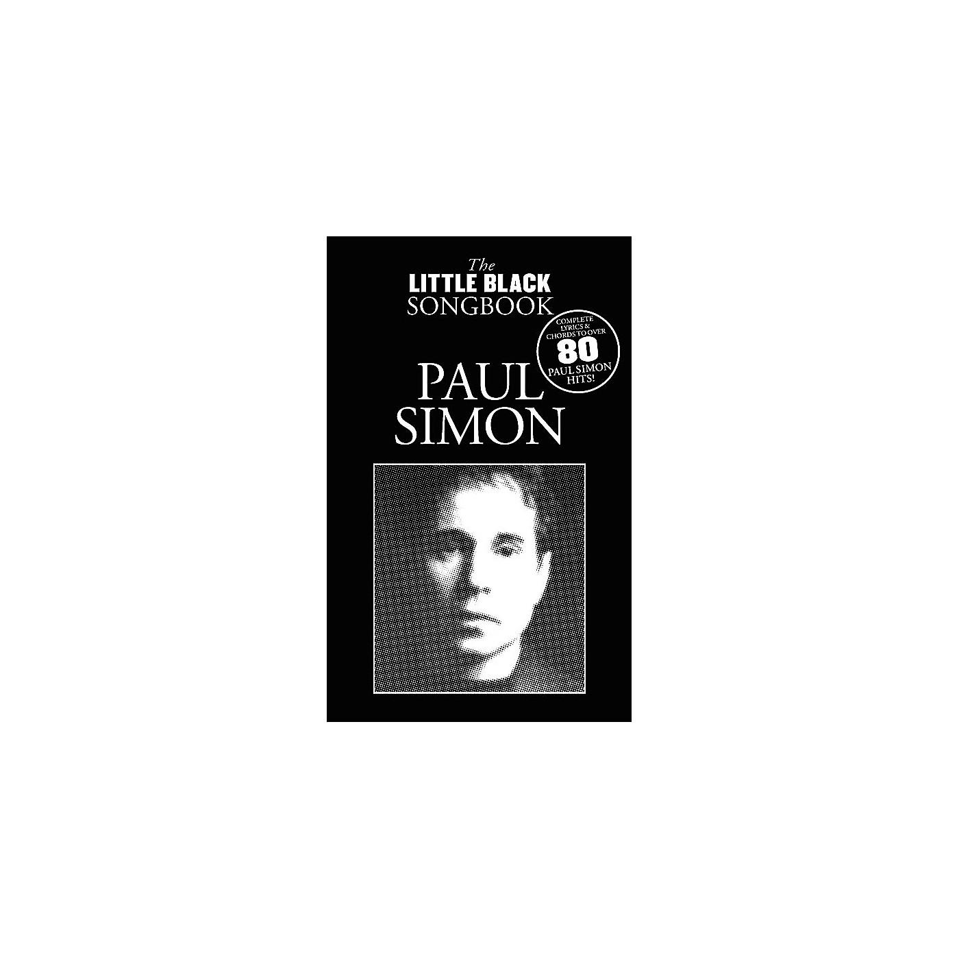 Music Sales Paul Simon - The Little Black Songbook The Little Black Songbook Series Softcover Performed by Paul Simon thumbnail
