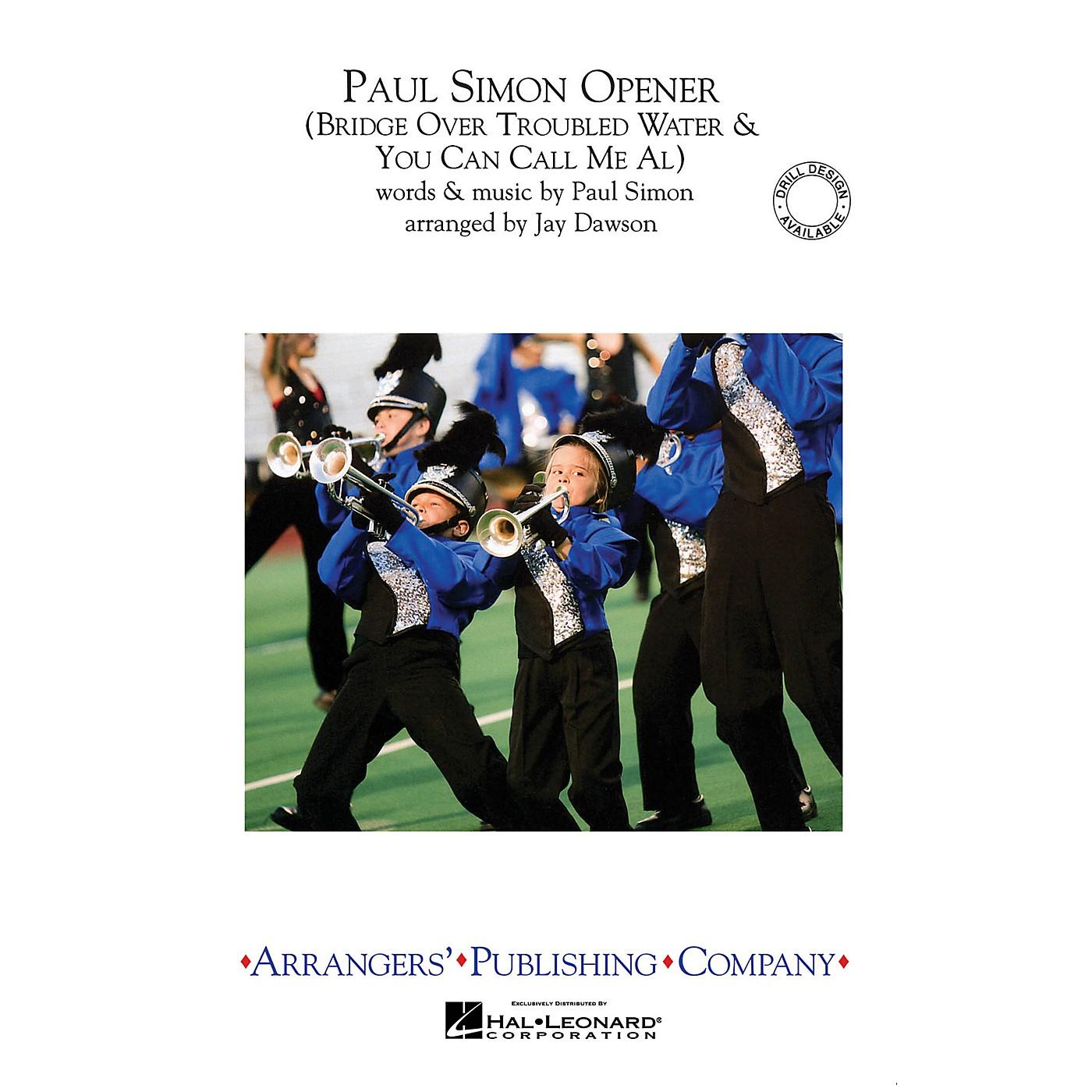 Arrangers Paul Simon Opener Marching Band Level 2.5 by Paul Simon Arranged by Jay Dawson thumbnail