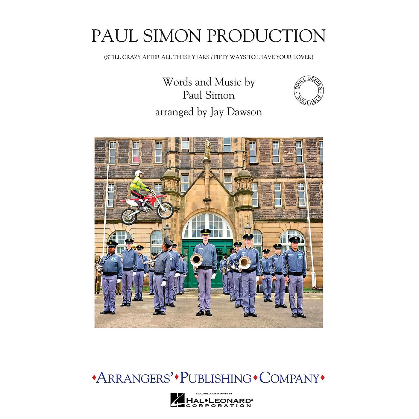 Arrangers Paul Simon Production Marching Band Level 2.5 by Paul Simon Arranged by Jay Dawson thumbnail