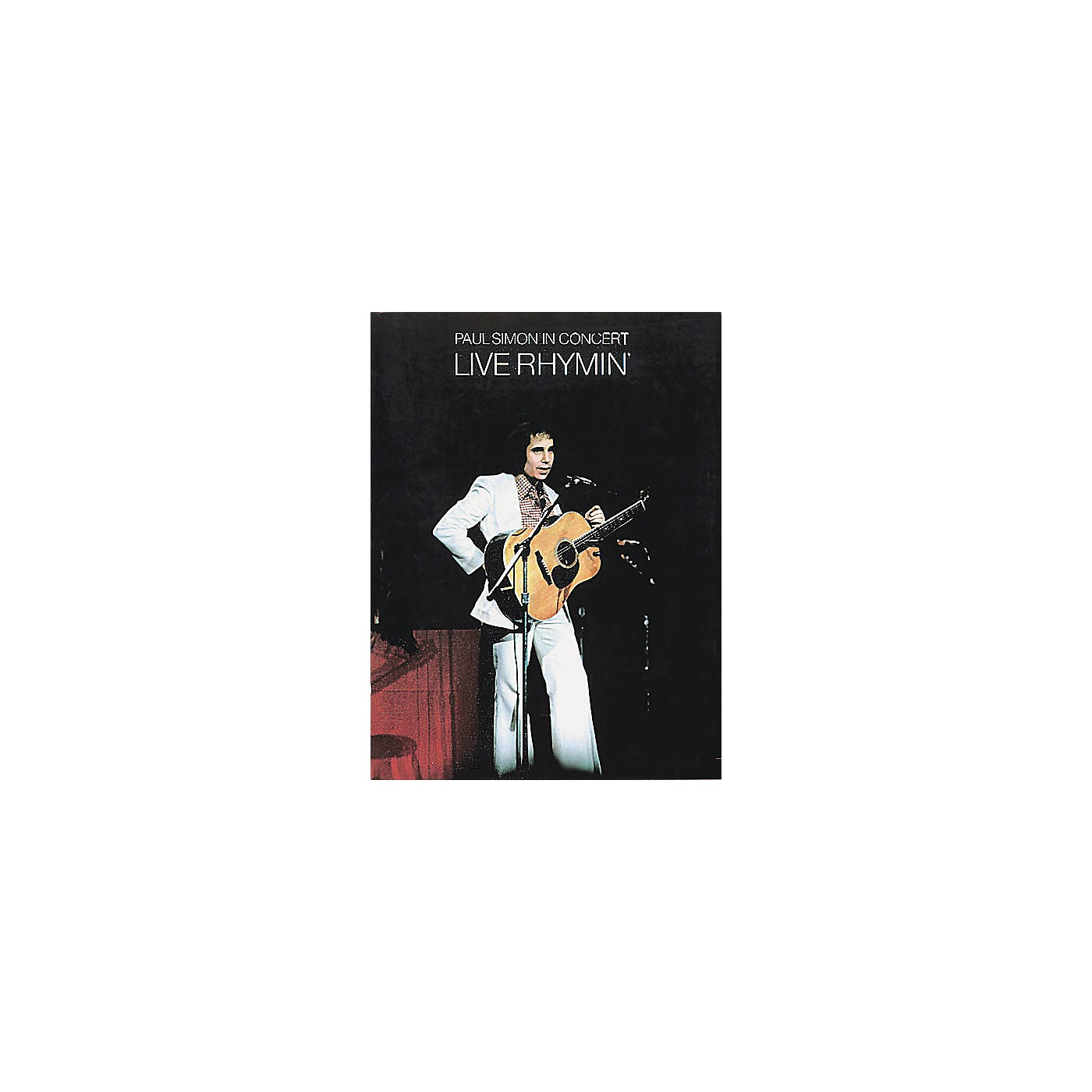 Music Sales Paul Simon in Concert - Live Rhymin' Music Sales America Series Softcover Performed by Paul Simon thumbnail