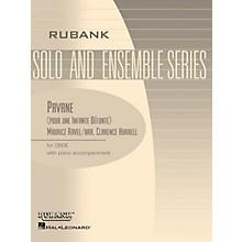 Rubank Publications Pavane (pour une Infante Défunte) (Oboe Solo with Piano - Grade 2) Rubank Solo/Ensemble Sheet Series