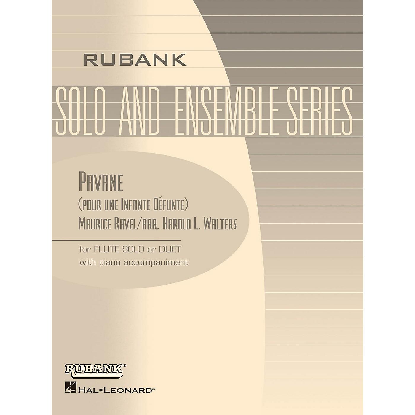 Rubank Publications Pavane (pour une Infante Défunte) Rubank Solo/Ensemble Sheet Series thumbnail
