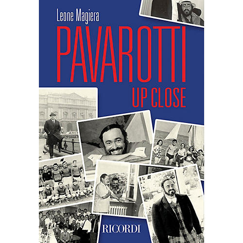 Ricordi Pavarotti Up Close Misc Series Softcover thumbnail