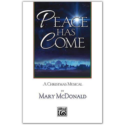 JUBILATE Peace Has Come SATB Choral Book thumbnail