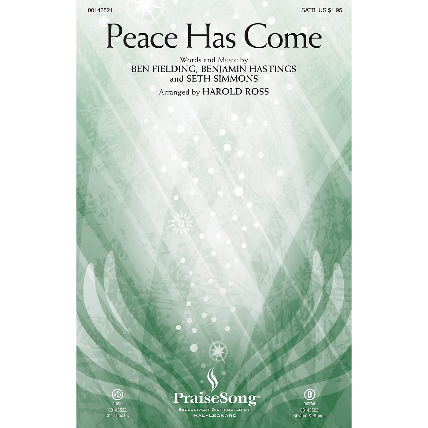 PraiseSong Peace Has Come SATB by Hillsong United arranged by Harold Ross thumbnail