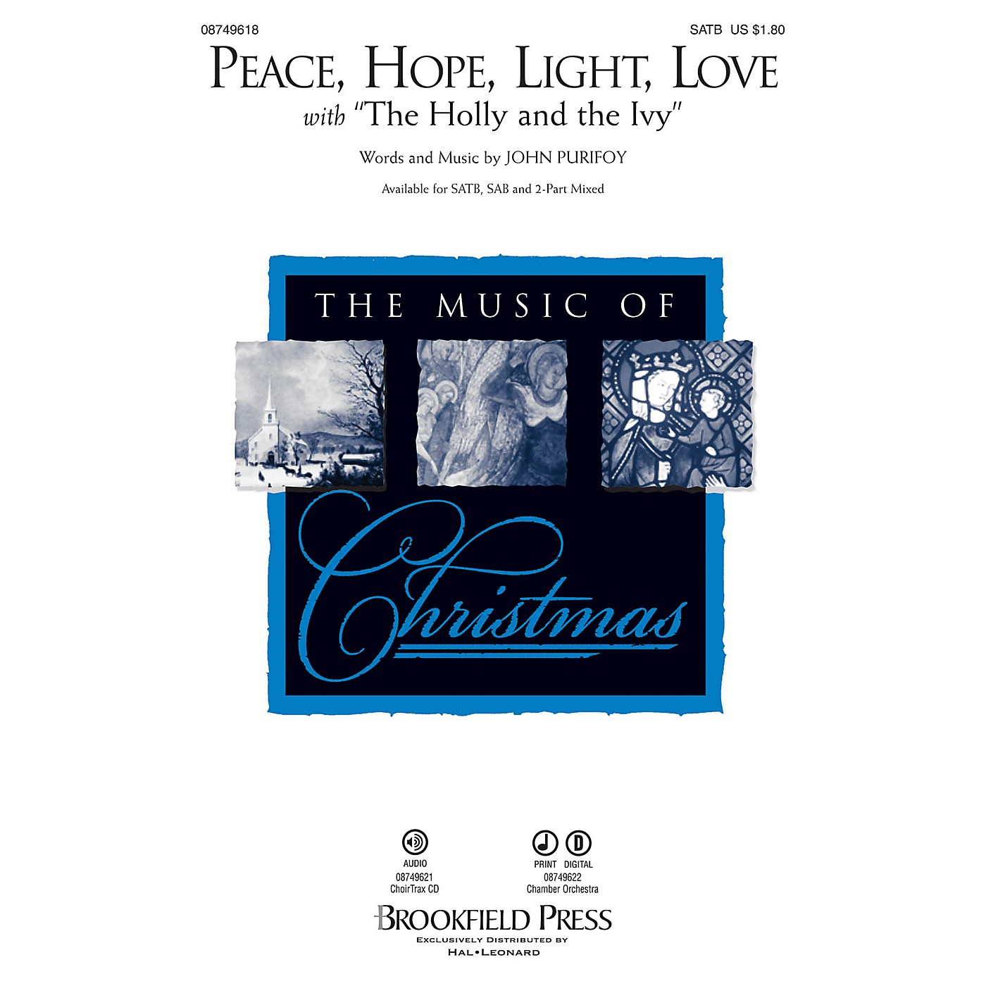 Brookfield Peace, Hope, Light, Love CHAMBER ORCHESTRA ACCOMP Composed by John Purifoy thumbnail