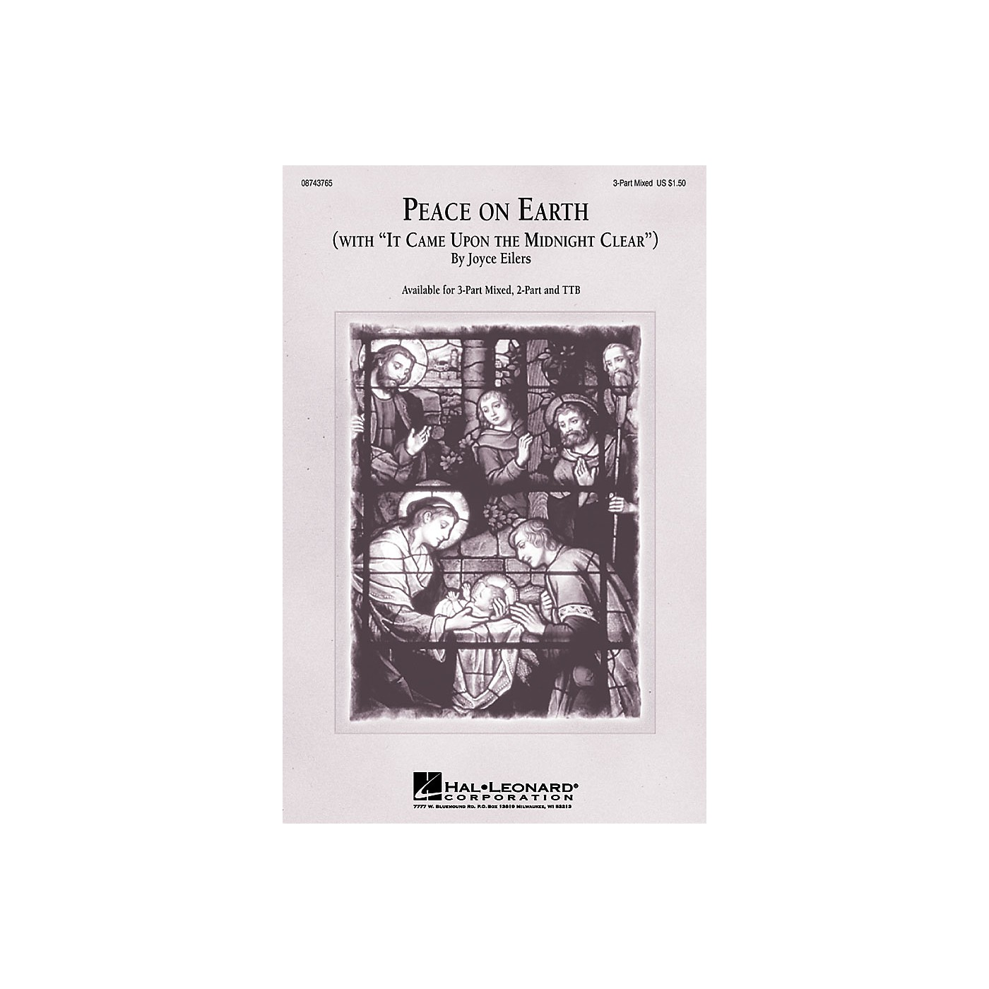 Hal Leonard Peace On Earth (with It Came Upon a Midnight Clear) TTB Composed by Joyce Eilers thumbnail