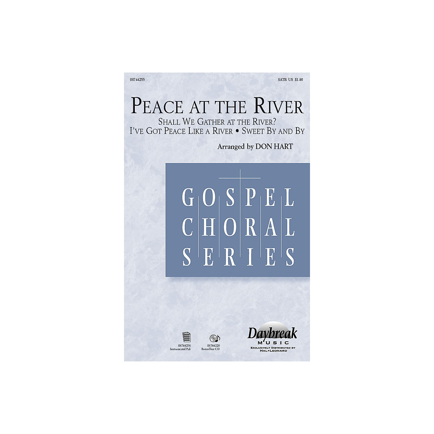 Daybreak Music Peace at the River SATB arranged by Don Hart thumbnail