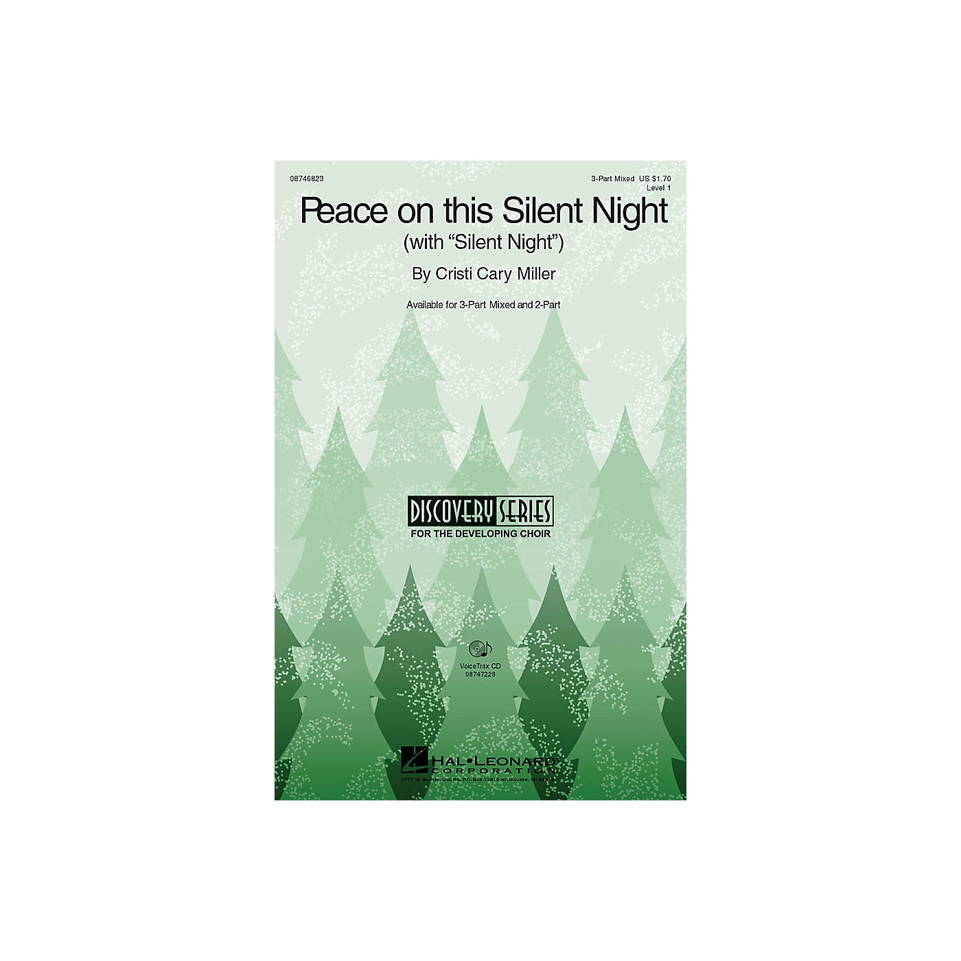 Hal Leonard Peace on This Silent Night (with Silent Night) 2-Part Composed by Cristi Cary Miller thumbnail