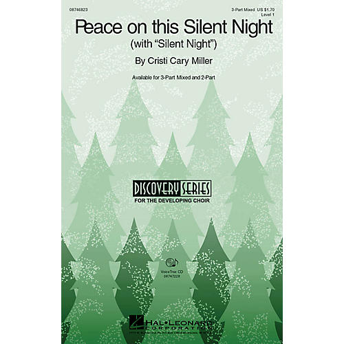Hal Leonard Peace on This Silent Night (with Silent Night) VoiceTrax CD Composed by Cristi Cary Miller thumbnail