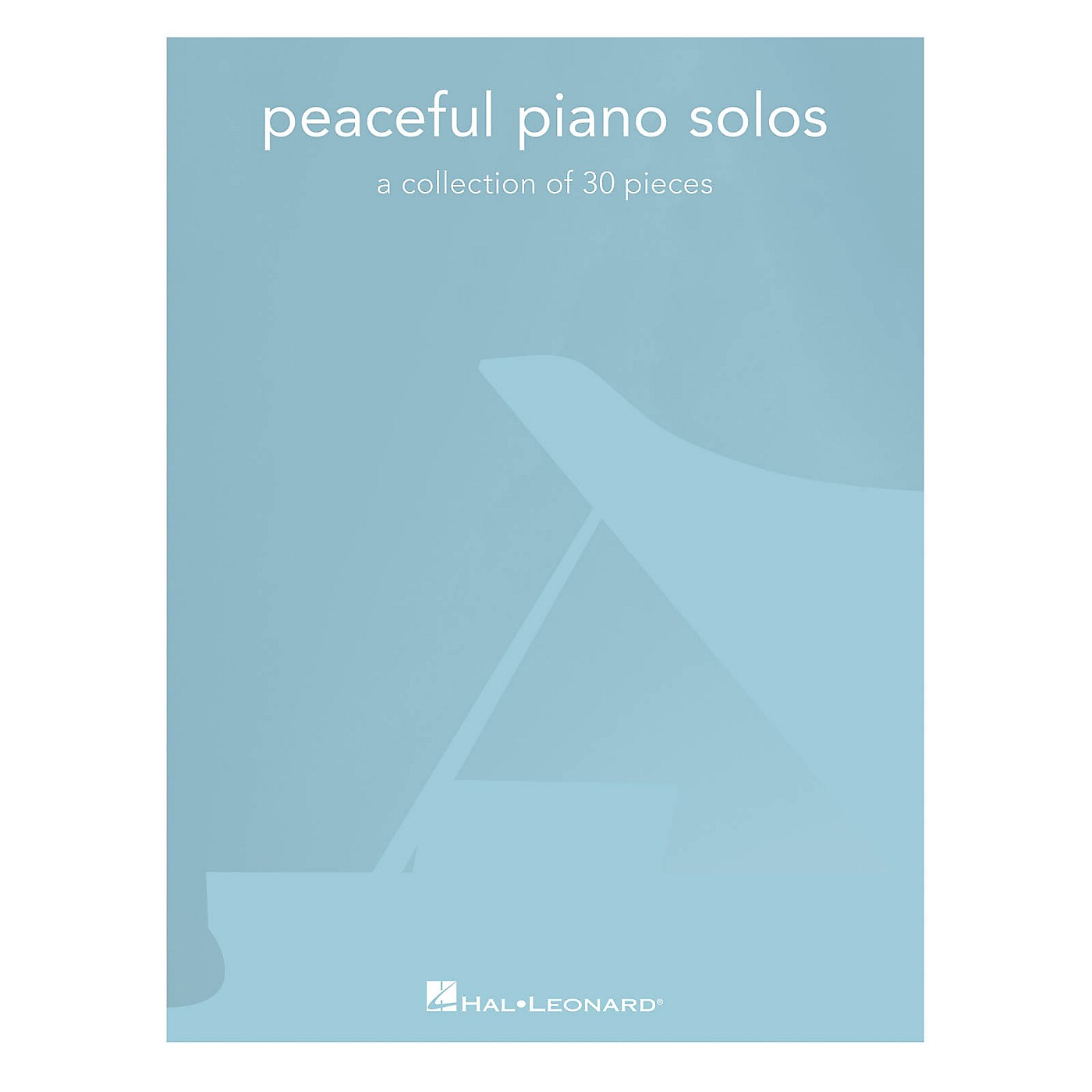 Hal Leonard Peaceful Piano Solos (A Collection of 30 Pieces) Piano Solo Songbook thumbnail