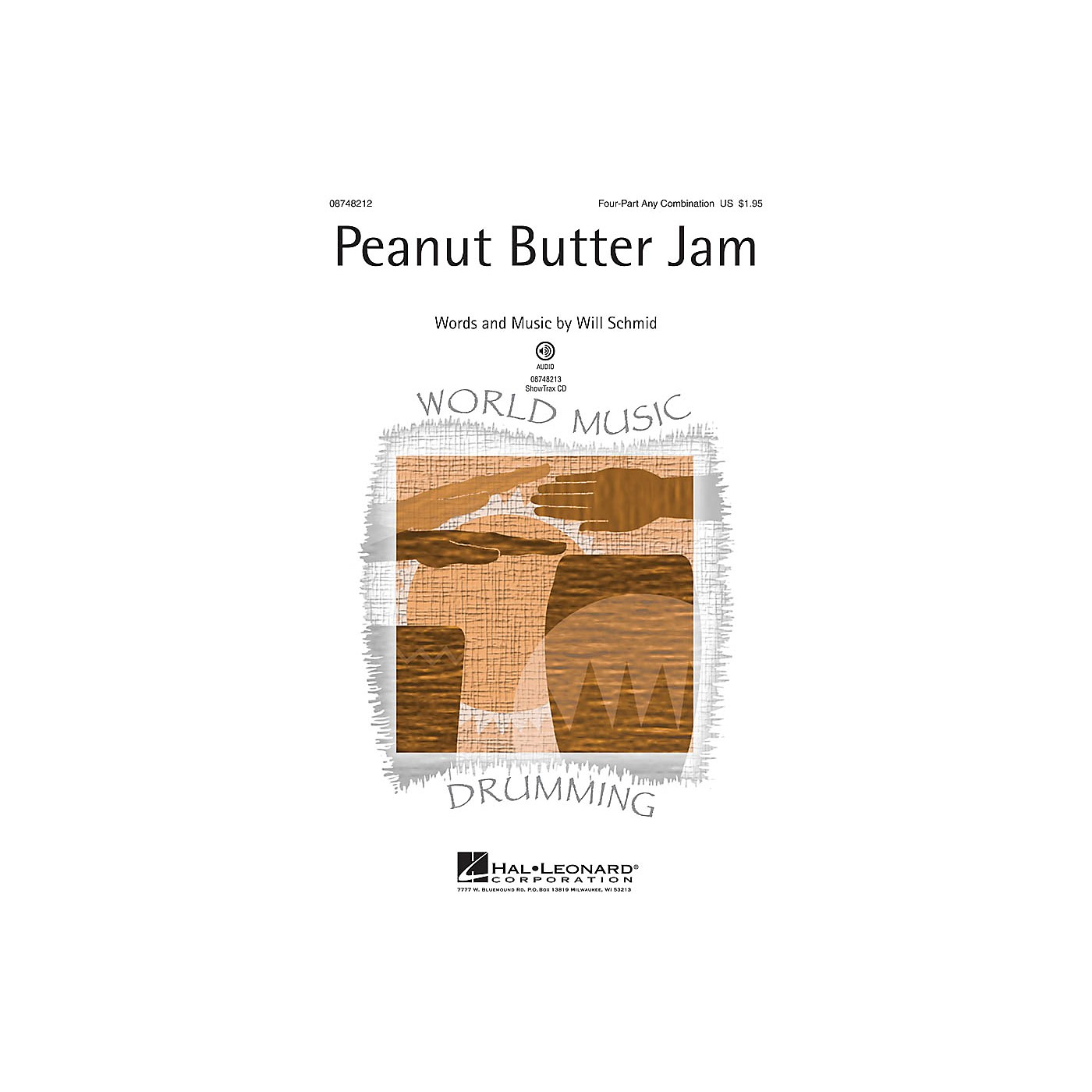 Hal Leonard Peanut Butter Jam ShowTrax CD Composed by Will Schmid thumbnail