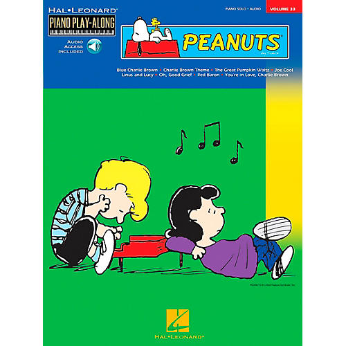 Hal Leonard Peanuts Piano Play Along Volume 33 Book with CD-thumbnail