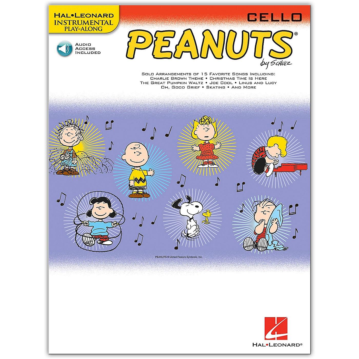 Hal Leonard Peanuts for Cello - Instrumental Play-Along Book/Online Audio thumbnail