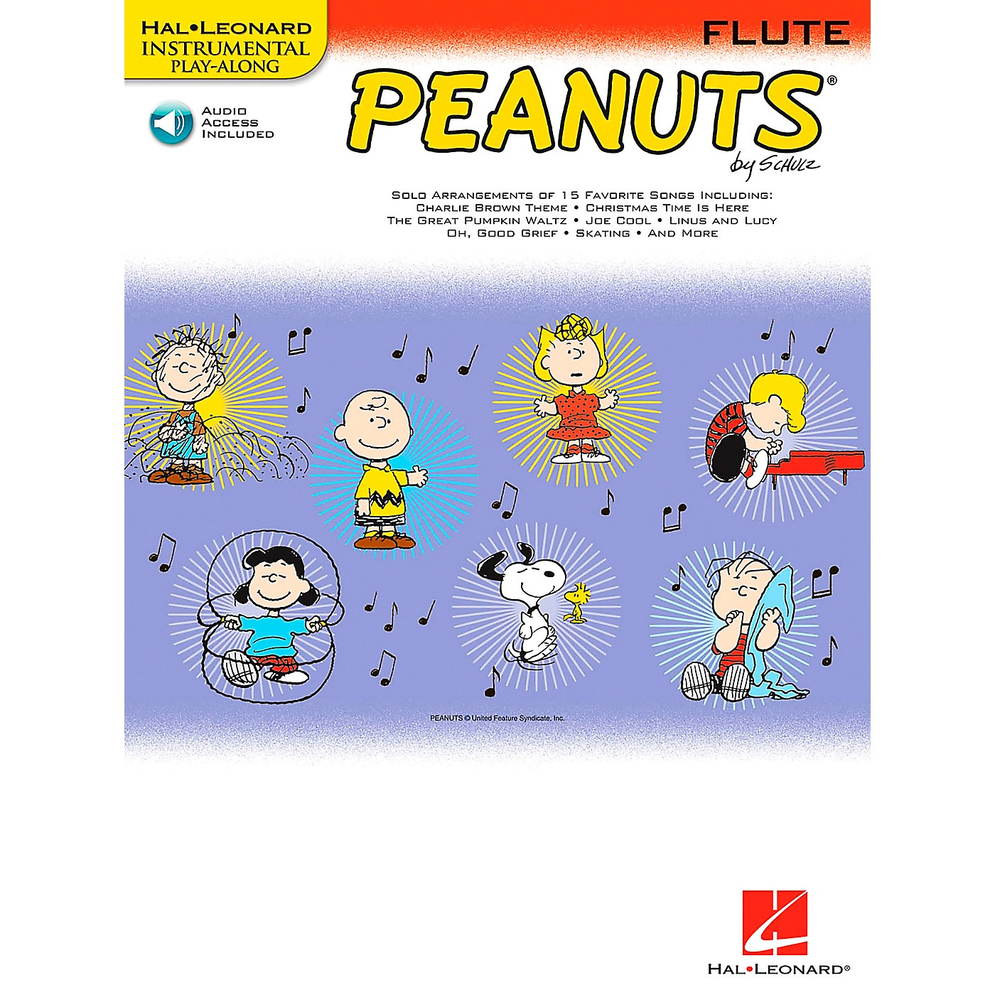 Hal Leonard Peanuts for Flute - Instrumental Play-Along Book/CD thumbnail