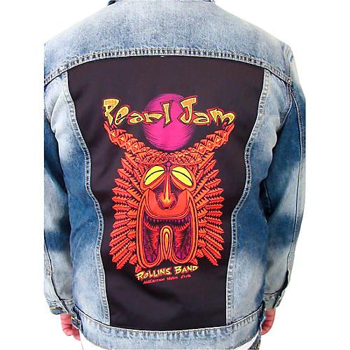 Dragonfly Clothing Pearl Jam - Tiki Torch - Mens Denim Jacket thumbnail