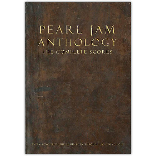 Hal Leonard Pearl Jam Anthology-The Complete Scores Deluxe Box Set thumbnail