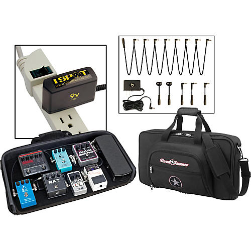 Road Runner Pedal Board with Bag and Visual Sound 1 Spot Combo Pack thumbnail