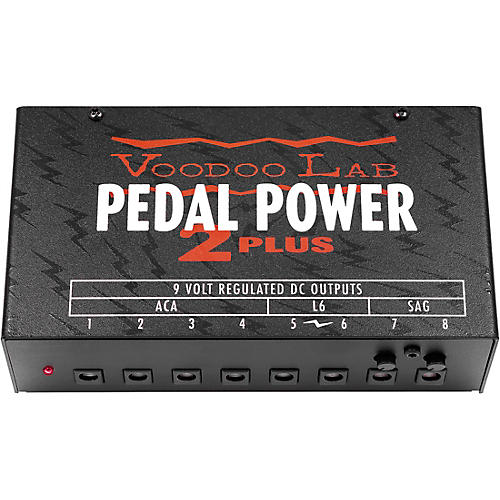 Voodoo Lab Pedal Power 2+ Power Supply thumbnail