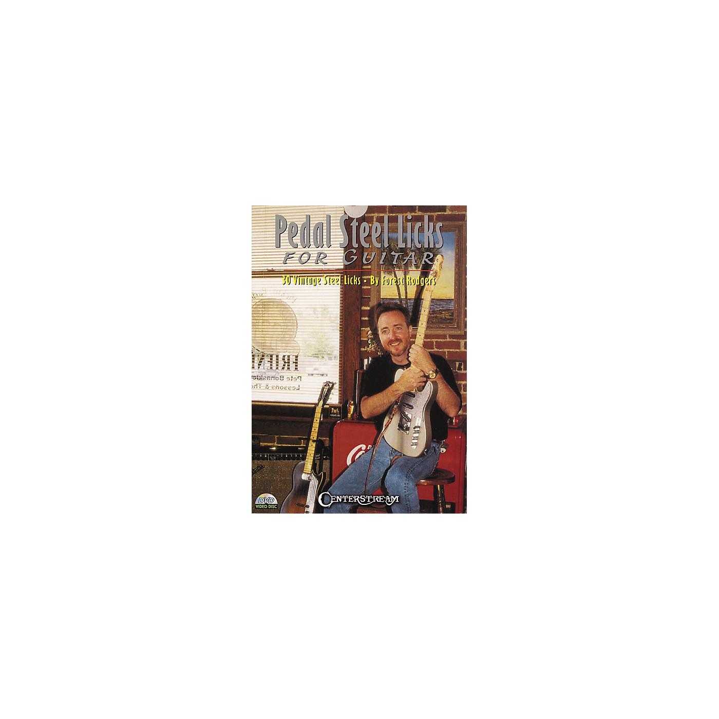 Centerstream Publishing Pedal Steel Licks for Guitar (DVD) thumbnail