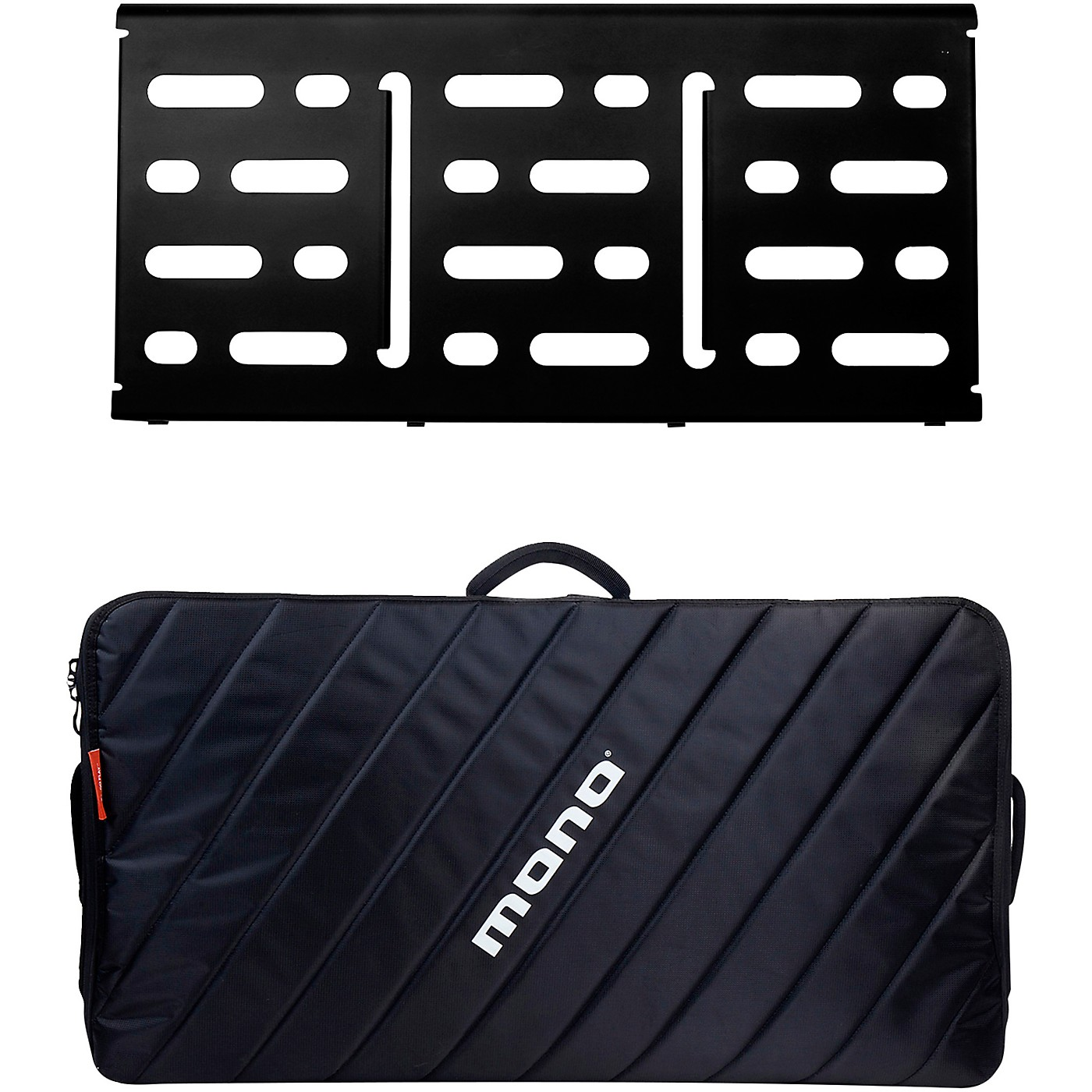 MONO Pedalboard Large, Black and Pro Accessory Case 2.0, Black thumbnail