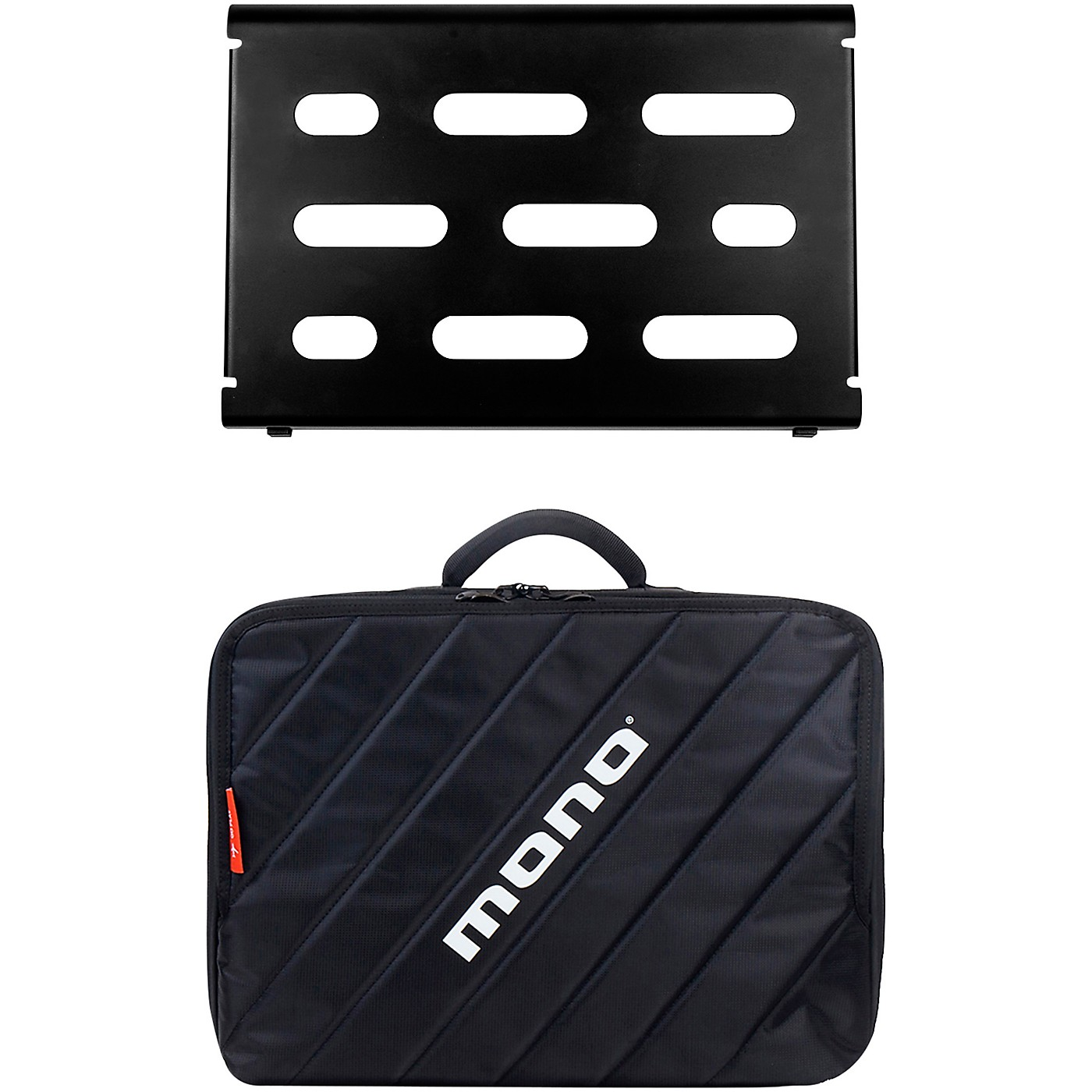 MONO Pedalboard Small, Black and Club Accessory Case 2.0, Black thumbnail