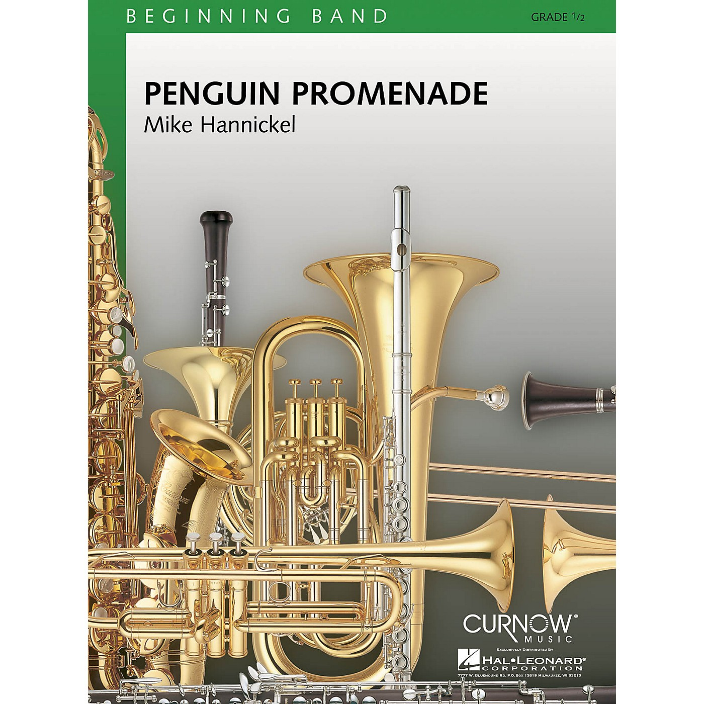 Curnow Music Penguin Promenade (Grade 0.5 - Score Only) Concert Band Level .5 Composed by Mike Hannickel thumbnail