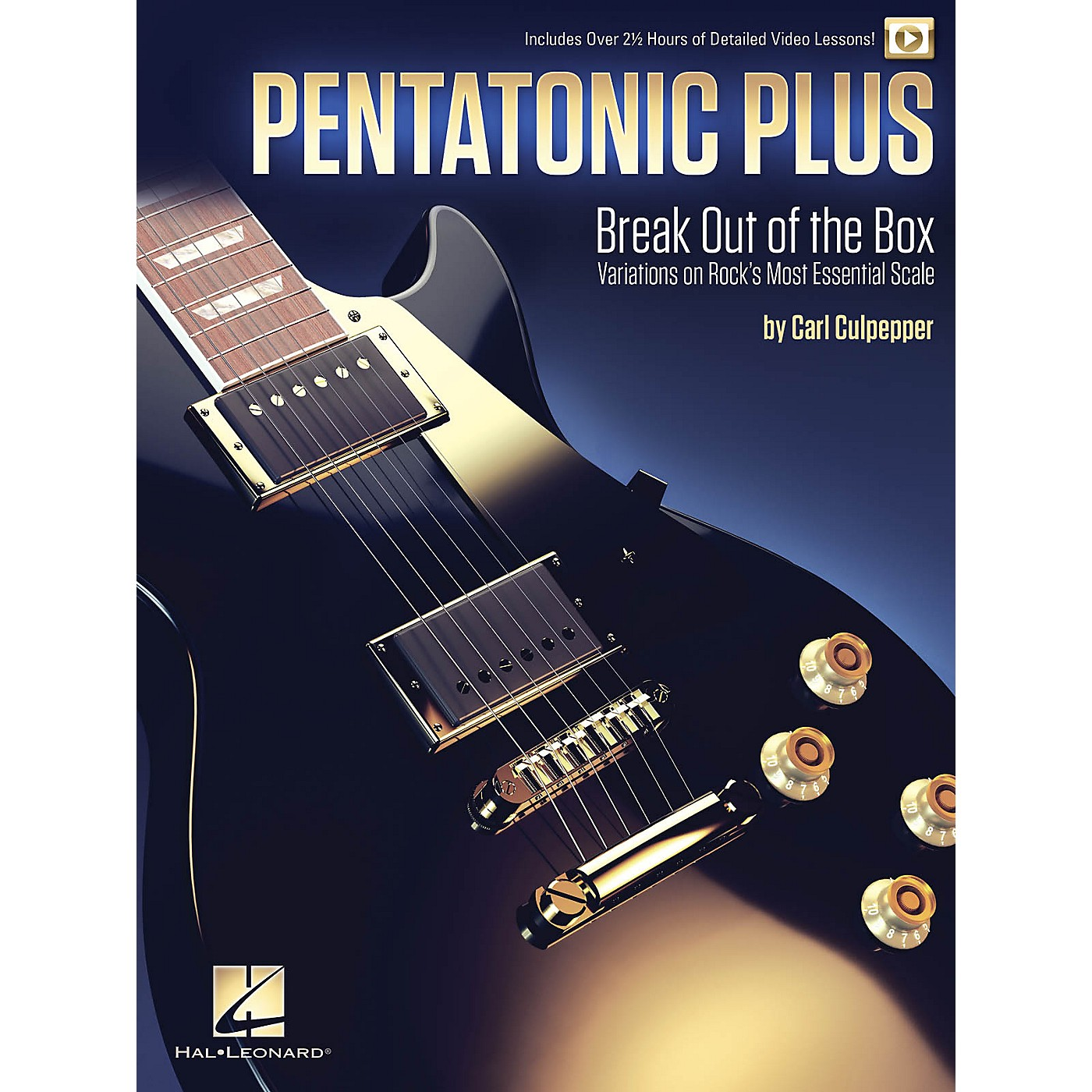 Hal Leonard Pentatonic Plus - Break Out of the Box: Variations on Rock's Most Essential Scale Book/Video Online thumbnail