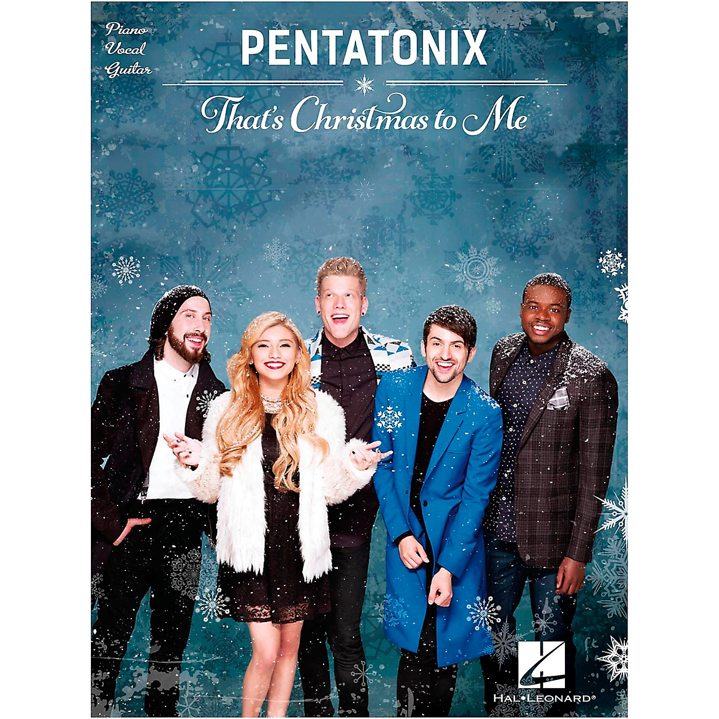 Hal Leonard Pentatonix - That's Christmas to Me Piano/Vocal/Guitar Songbook thumbnail
